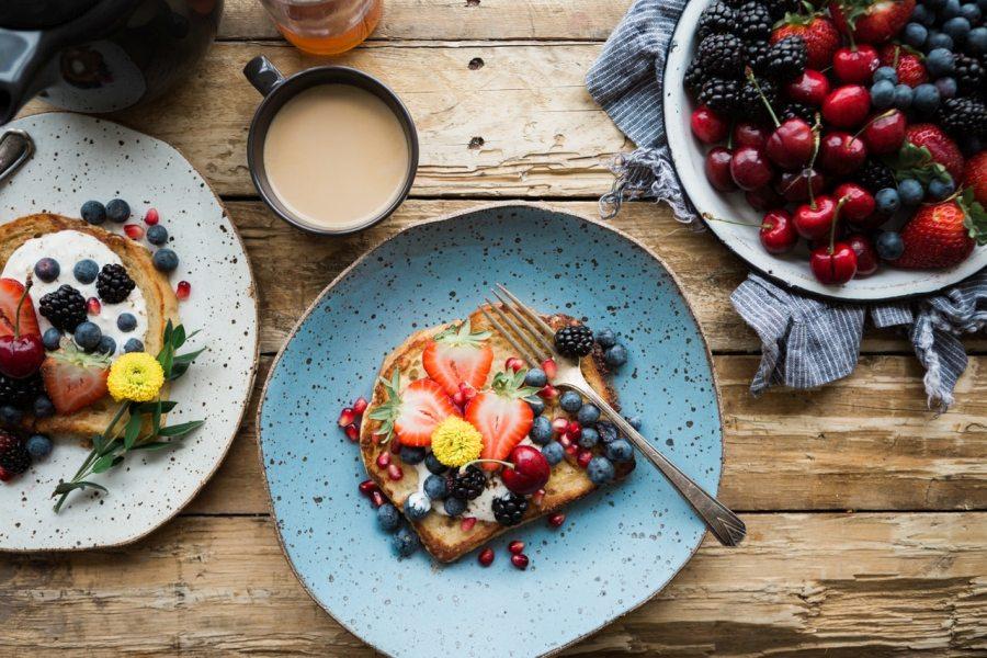 letnie śniadanie