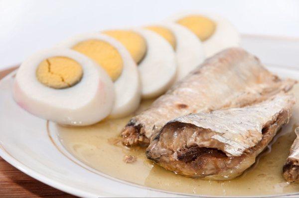 jajka i ryby źrodla witaminy d